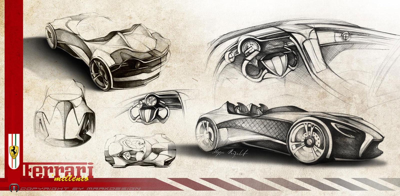 Автомобиль будущего рисунок карандашом castom car