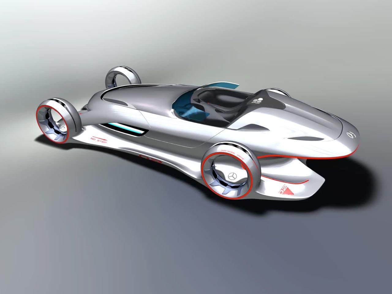 Mercedes benz silver arrow concept imagini si video for Mercedes benz silver lightning