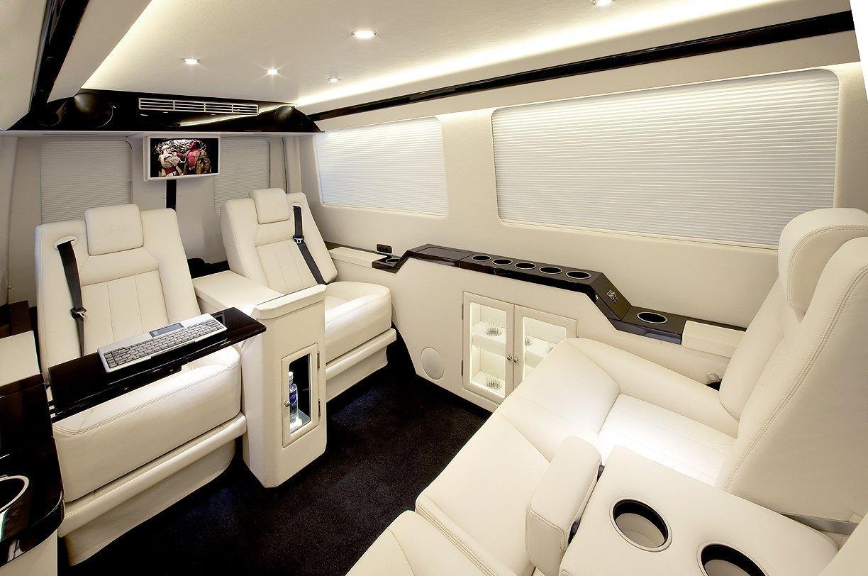 Mercedes sprinter van customised by becker for Mercedes benz sprinter jetvan