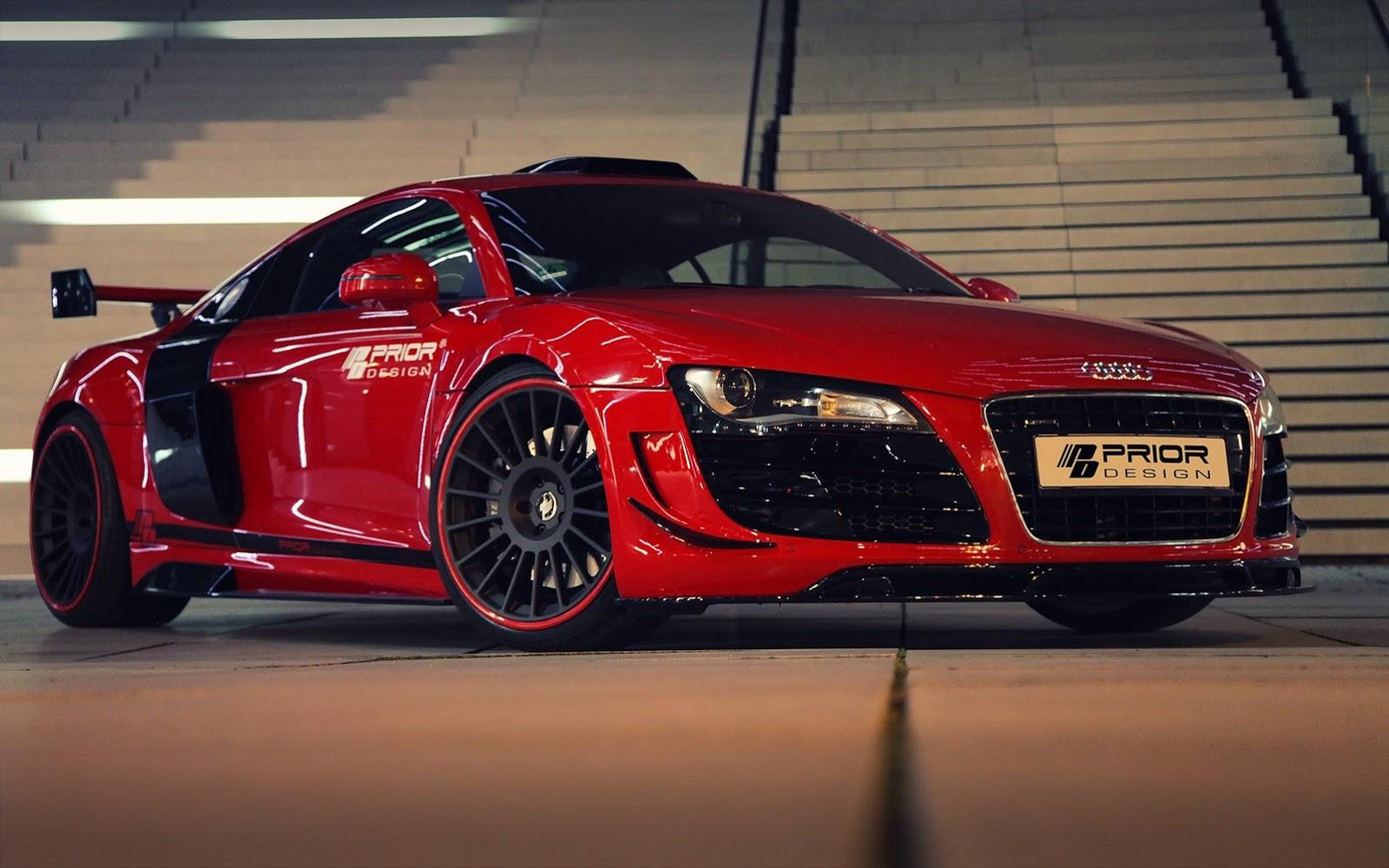 Audi R8 Pd Gt650 De La Prior Design Automod Ro